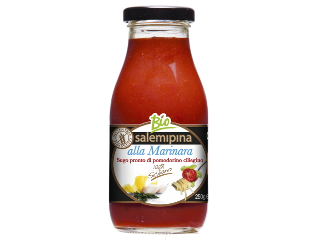 シチリア産有機チェリートマトのソースマリナーラの商品写真