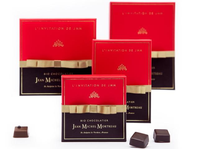 ジャン=ミッシェル・モルトローのチョコレートのパッケージ写真