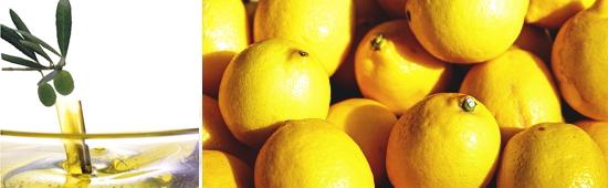 レモン オーガニック オリーブオイル