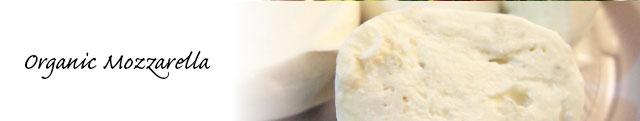 カットされたモッツァレラチーズの写真