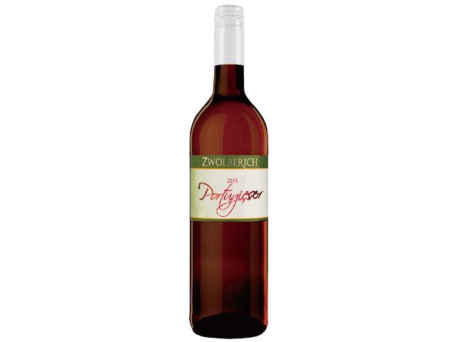 葡萄ジュースロゼポルトギーザーのボトル写真