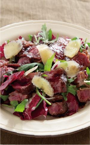牛肉のタリアータの料理写真