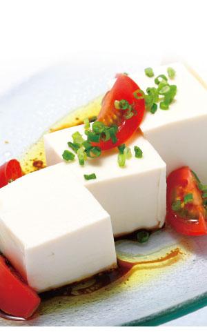豆腐withバルサミコビネガーの料理写真
