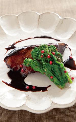 鰤の照り焼きバルサミコソースの料理写真
