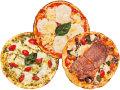 ピザ3枚の写真